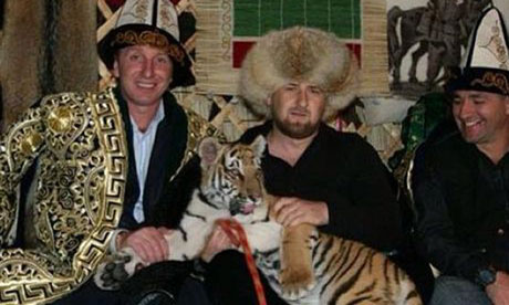 Grisha Simonyan |Terek Grozny | football-russe | footballski site sur le football d'Europe de l'Est | Ramzan Kadyrov
