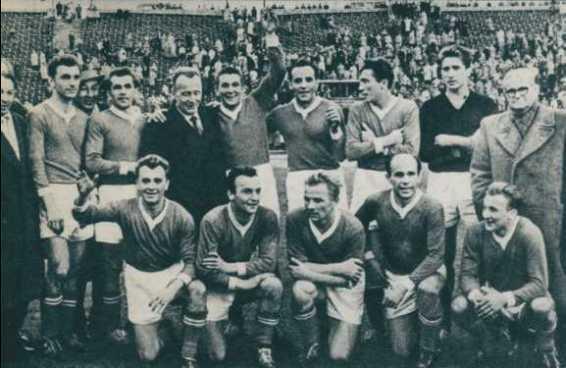 photo des champions de 1958.