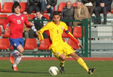 FOTBAL - UNDER 17 - SERBIA - ROMANIA