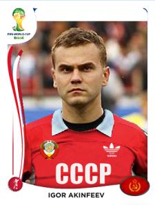 Carte Akinfeev