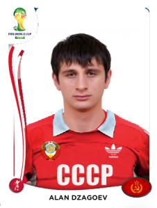 Carte Dzagoev