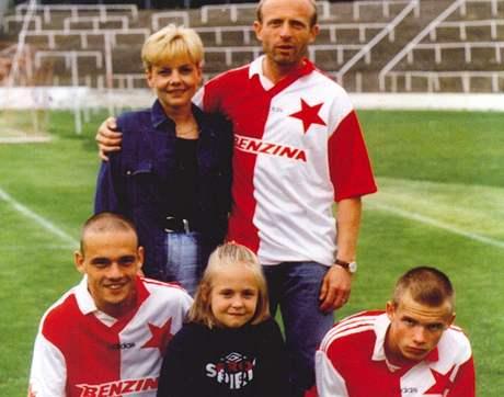 Karel, David, Marek, Lukáš. La famille Jarolím a le football dans le sang.