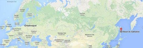 Sakhalin, Footballski, Russie